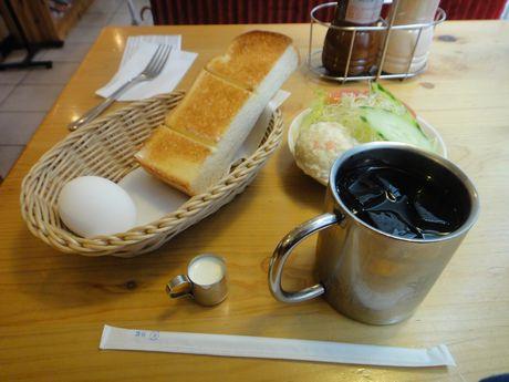 アイスコーヒーモーニング+ミニサラダ
