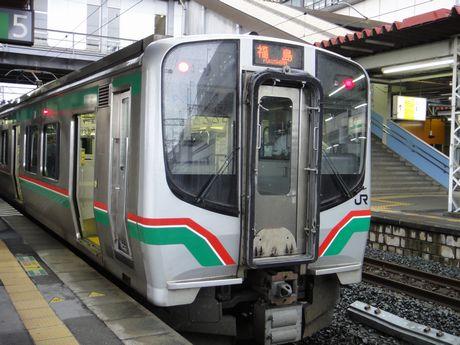 福島行きE721系