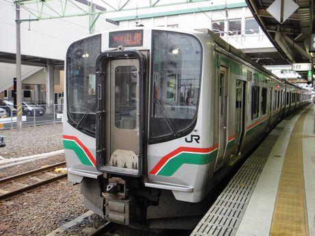 快速山形行きE721系